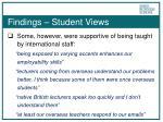findings student views1