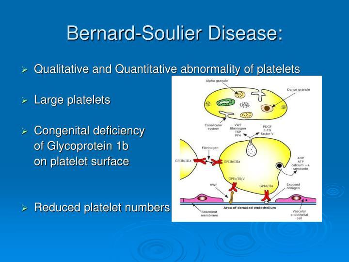 Bernard-Soulier Disease: