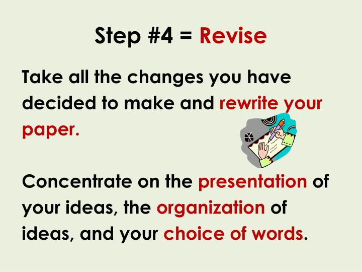 Step #4 =