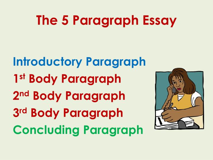 The 5 Paragraph Essay