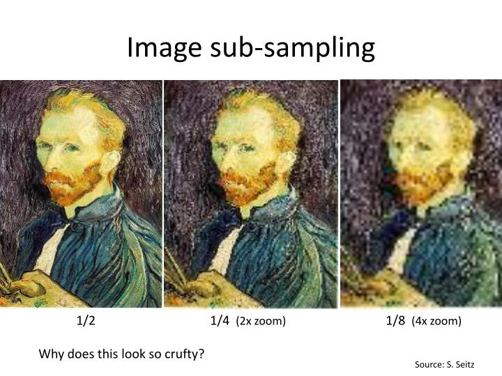 Image sub-sampling