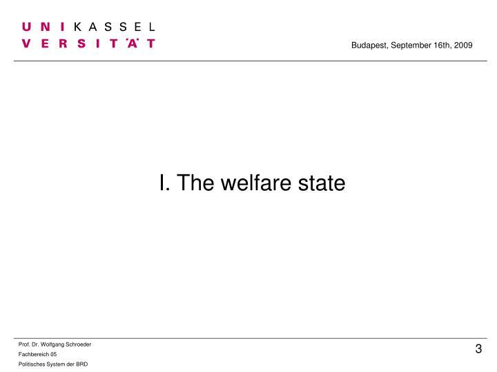 I the welfare state