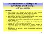 recommandations strat gies de surveillance microbiologique environnementale3