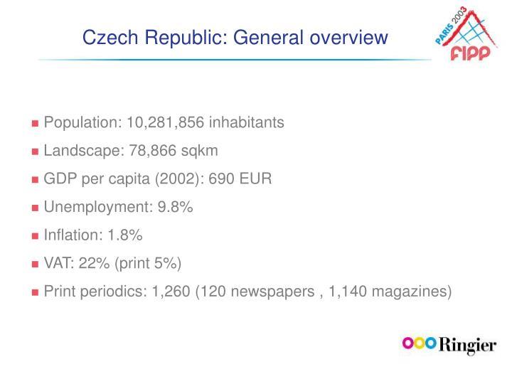 Czech republic general overview