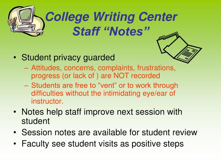 College Writing Center