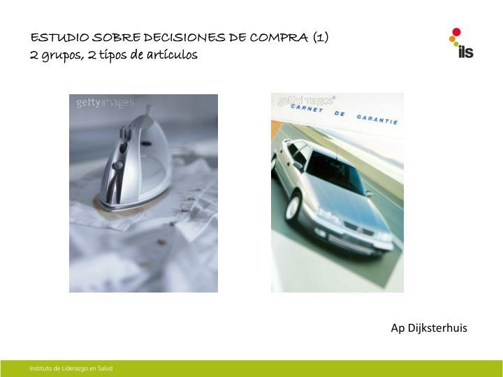 ESTUDIO SOBRE DECISIONES DE COMPRA (1)