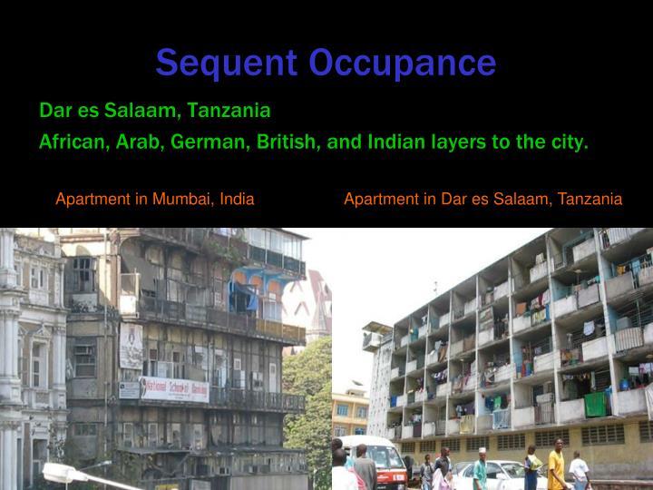 Sequent Occupance