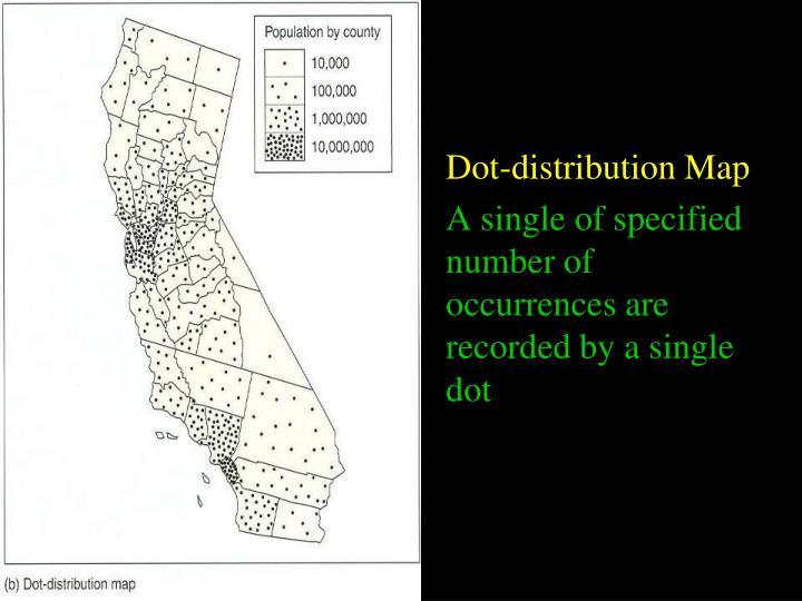 Dot-distribution Map