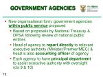government agencies1