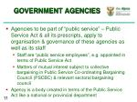 government agencies2