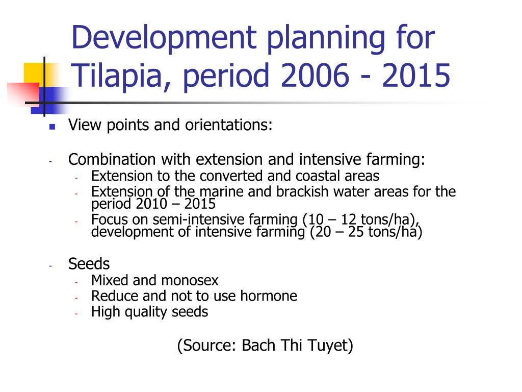 PPT - Seed selection of GIFT Tilapia ( Oreochromis niloticus ) in