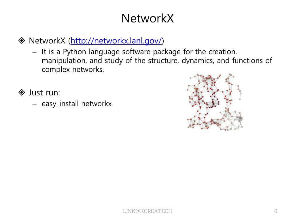 PPT - Python & NetworkX PowerPoint Presentation - ID:3794263
