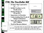 ttb the two dollar bill