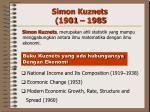 simon kuznets 1901 1985