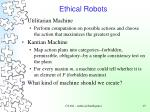 ethical robots