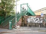 sovrappasso pedonale vicinanze stazione ferroviaria porta genova