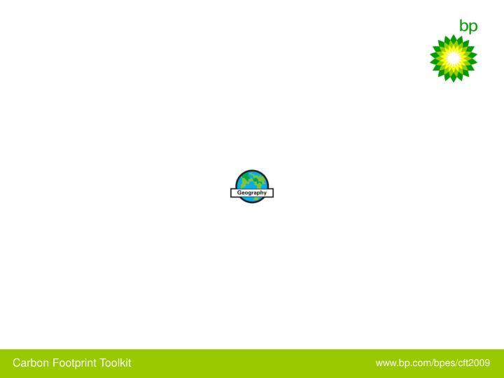 Carbon Footprint Toolkit