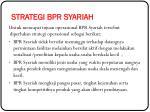strategi bpr syariah