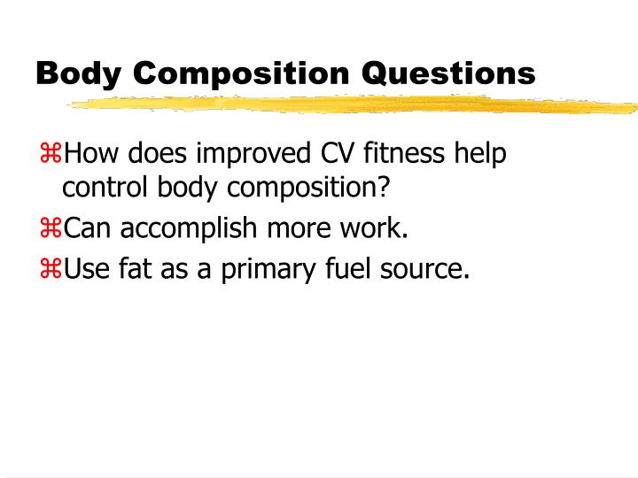 Body composition questions1