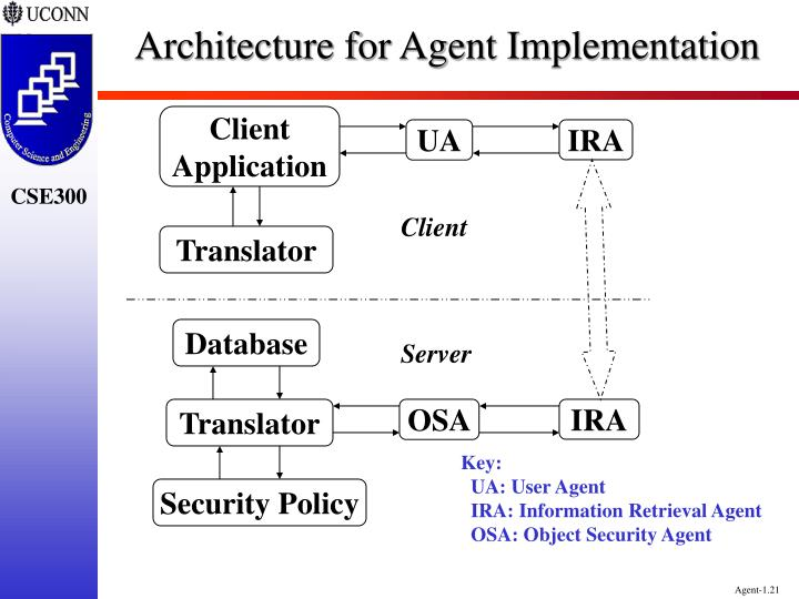 Architecture for Agent Implementation