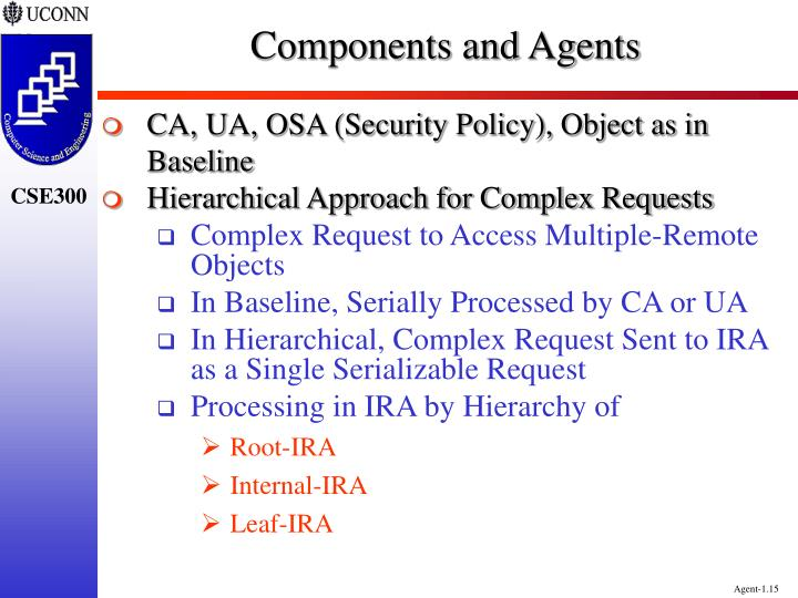 Components and Agents