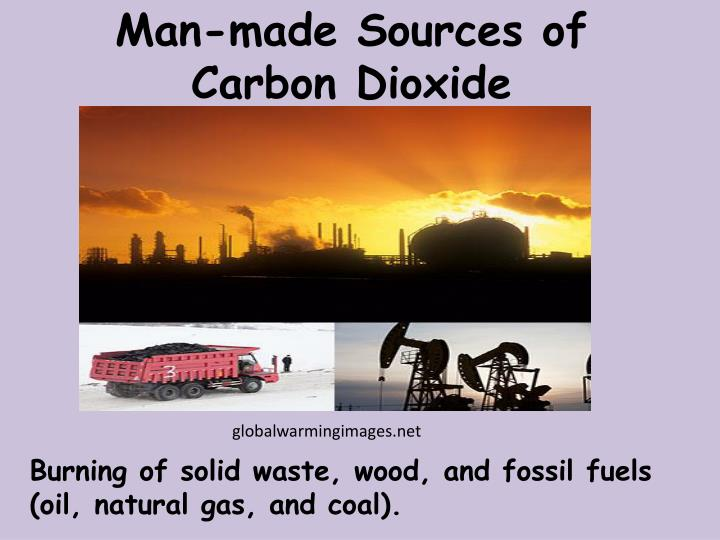 Man-made Sources of