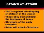 satan s 4 th attack
