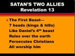 satan s two allies revelation 13