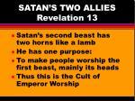 satan s two allies revelation 132