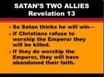 satan s two allies revelation 133