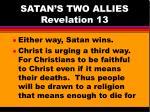 satan s two allies revelation 134