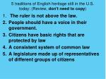 5 traditions of english heritage still in the u s today review don t need to copy