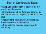 birth of democratic nation1