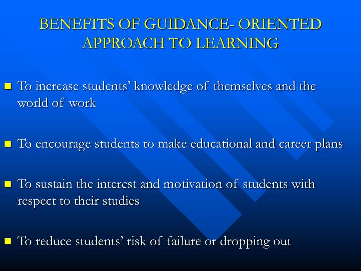 guidance oriented