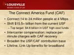 the connect america fund caf