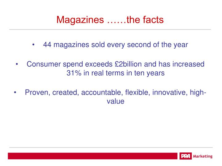 magazines the facts n.