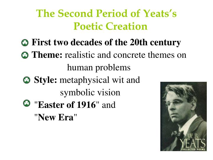 The Second Period of Yeats's