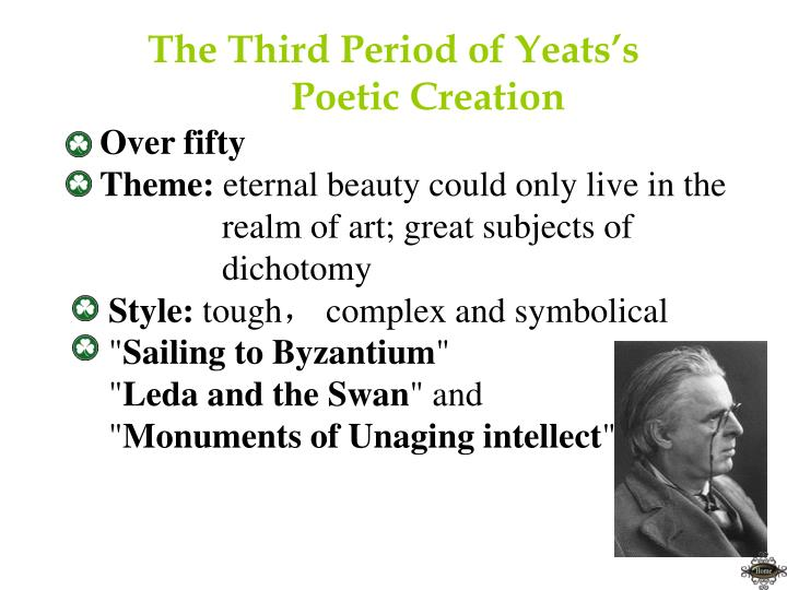 The Third Period of Yeats's