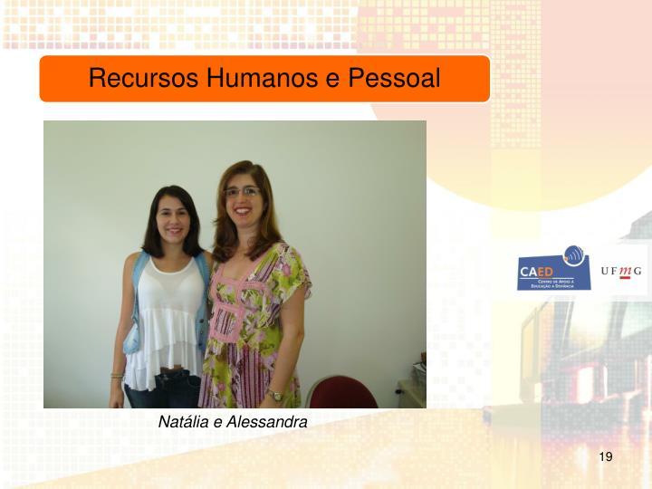 Natália e Alessandra