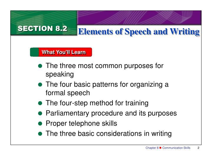 3 basic elements of communication