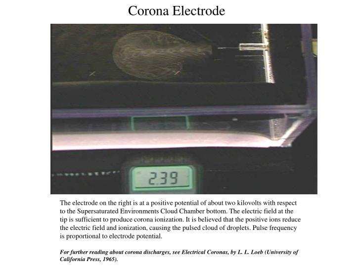 Corona Electrode