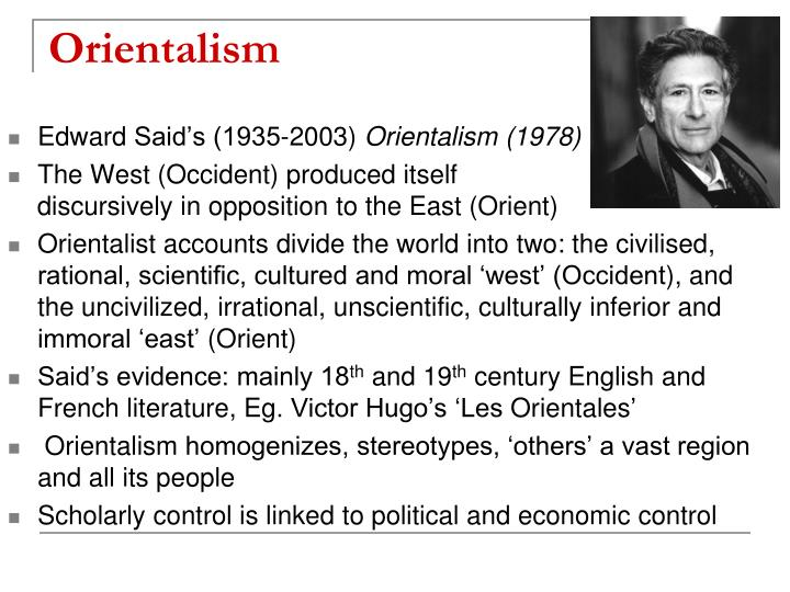 orientalism in english literature