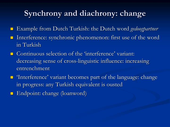 Synchrony and
