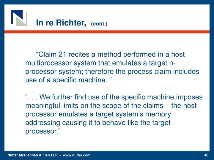 In re Richter,
