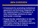 bifa overview