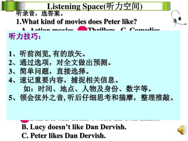 ListeningSpace(