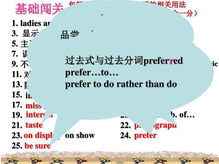 包括拼写,含义及重点词的相关用法