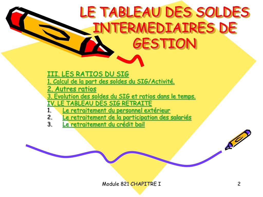 Ppt Le Tableau Des Soldes Intermediaires De Gestion Powerpoint Presentation Id 3800612