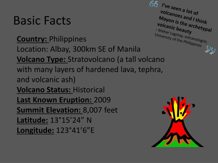 PPT - Philippines Mt. Mayon Volcano PowerPoint Presentation - ID:3800871