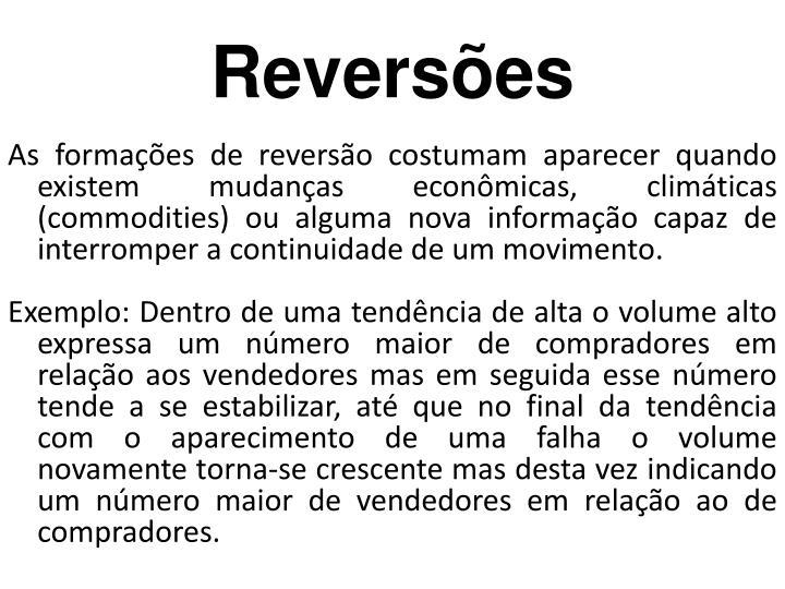 Reversões